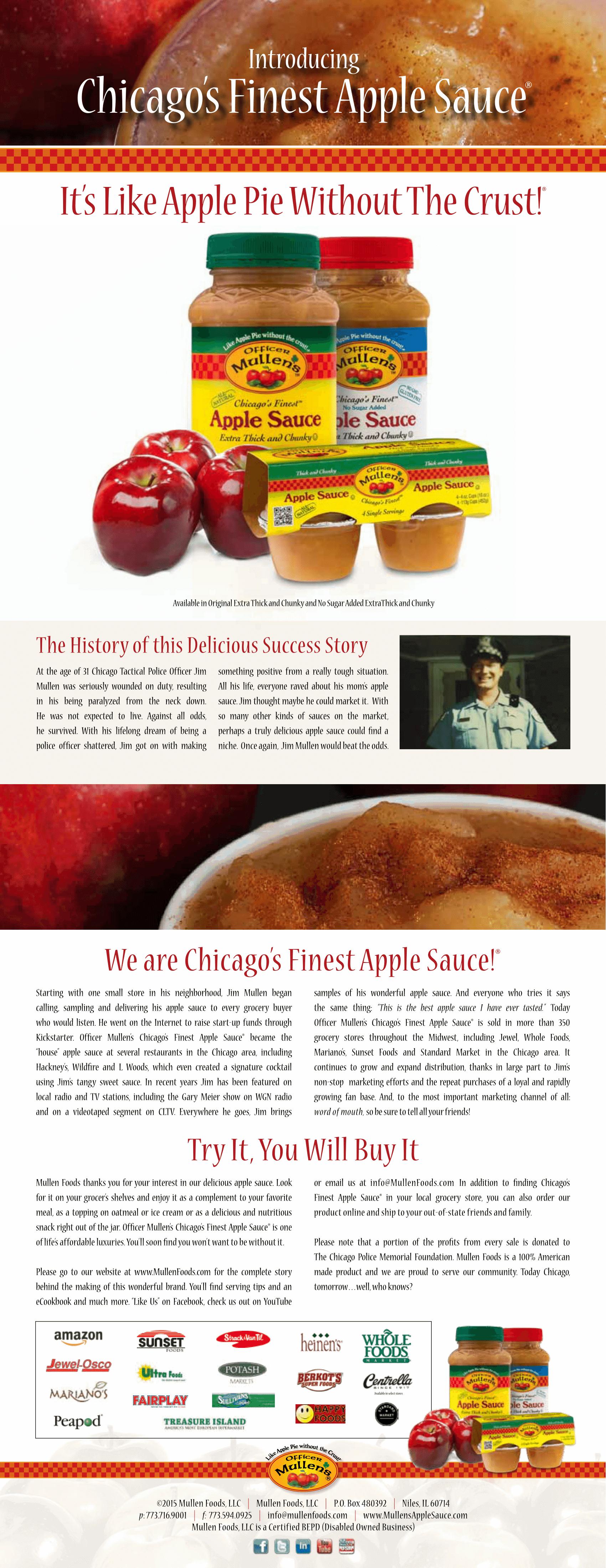 Mullen's Applesauce Chicago Locations