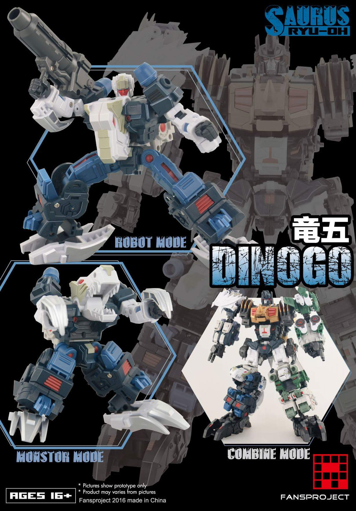 [FansProject] Produit Tiers - Jouet Saurus Ryu-oh aka Dinoking (Victory) | Monstructor (USA) - Page 2 VFXHT44R