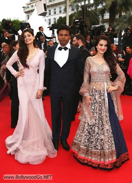 Amisha and Puja Gupta at All is Lost Premiere at Cannes AdbKV253
