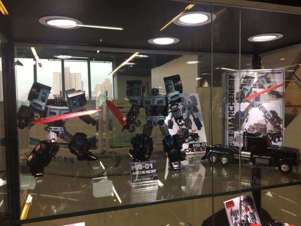 [FansHobby] Produit Tiers - Master Builder MB-01 Archenemy (aka Scourge RID 2000),  MB-04 Gunfighter II (aka Laser Optimus G2) et MB-09 Trailer (remorque) HGiIBjPi