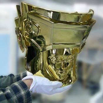 Processo de criação da Armadura de Gemeos para a exibição de Pachinko CJCabcVQ