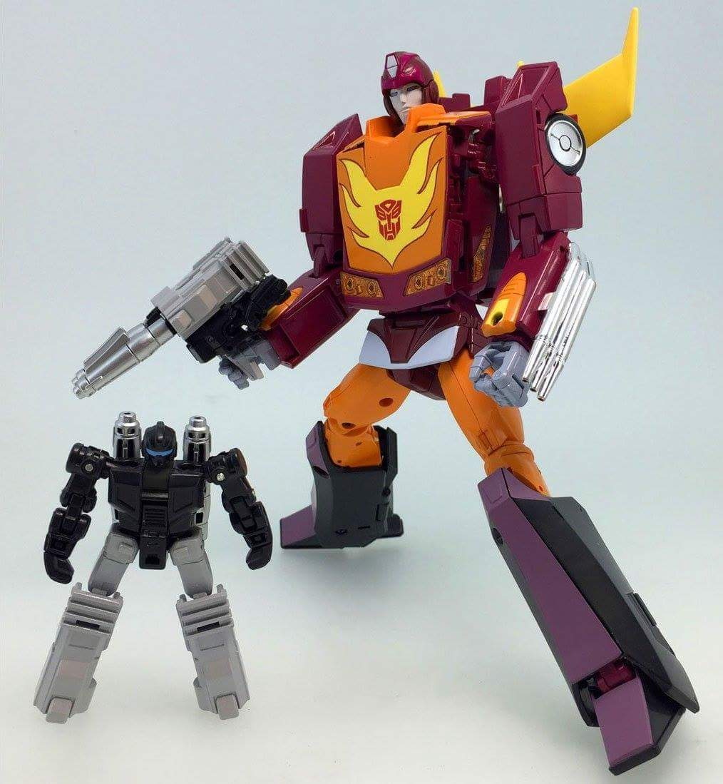 [Masterpiece] MP-40 Targetmaster Hot Rodimus (aka Hot Rod/Météorite) Psbx7lSf