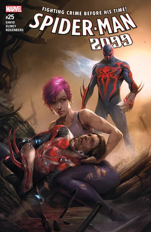 Spider-Man 2099 Vol.3 #1-25 (2015-2017) Complete