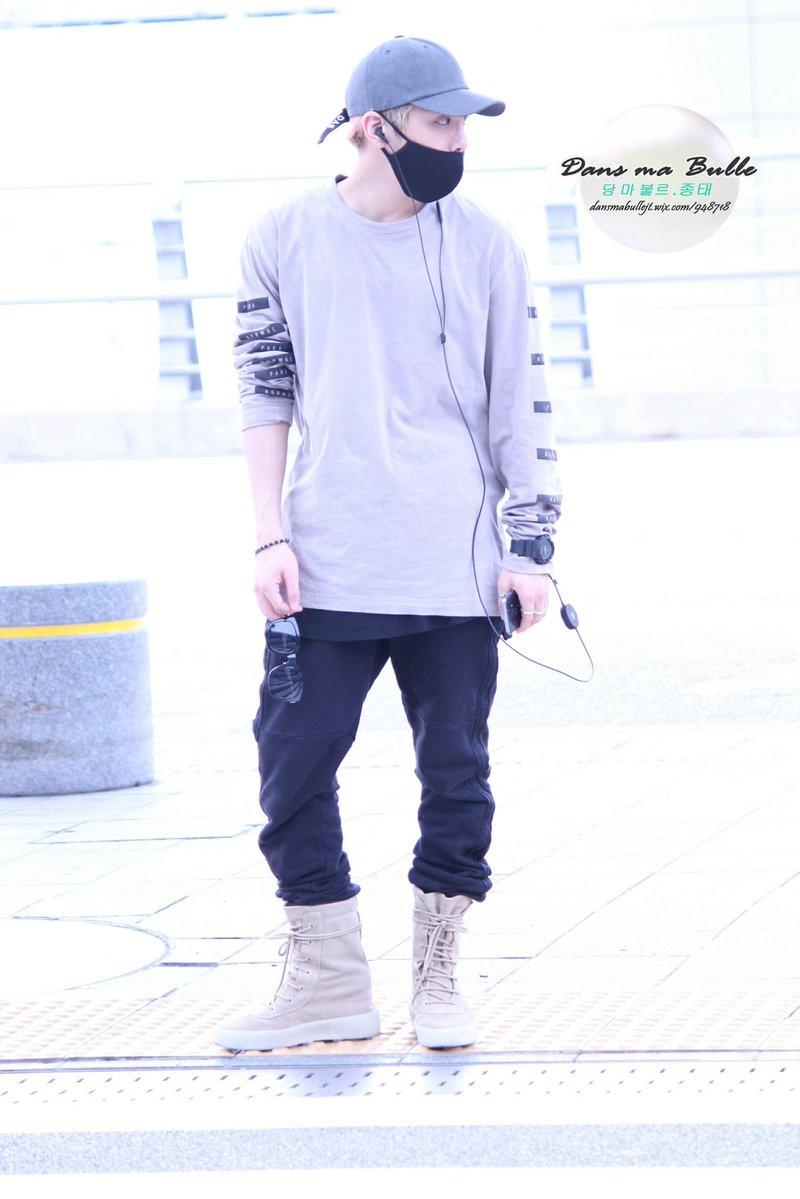 [IMG/160715] Jonghyun, Key @ Aeropuerto Incheon hacia Japón. MFlvgiBC