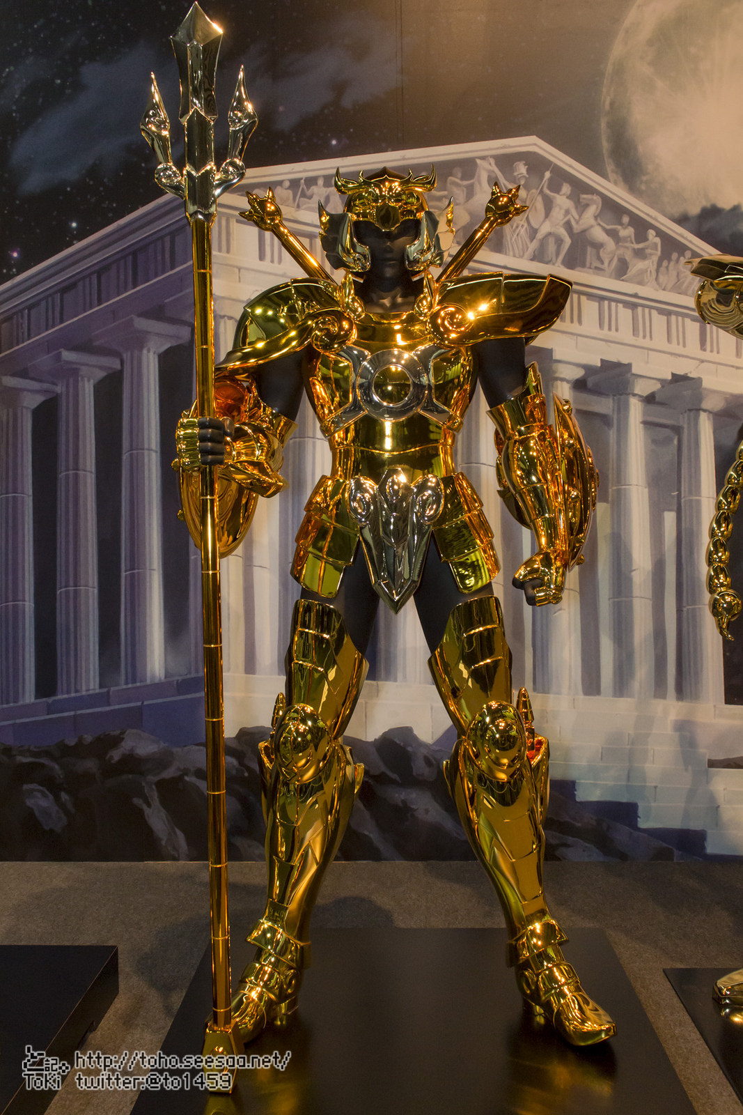 Complete Works of Saint Seiya - Gold Cloths in scala 1:1