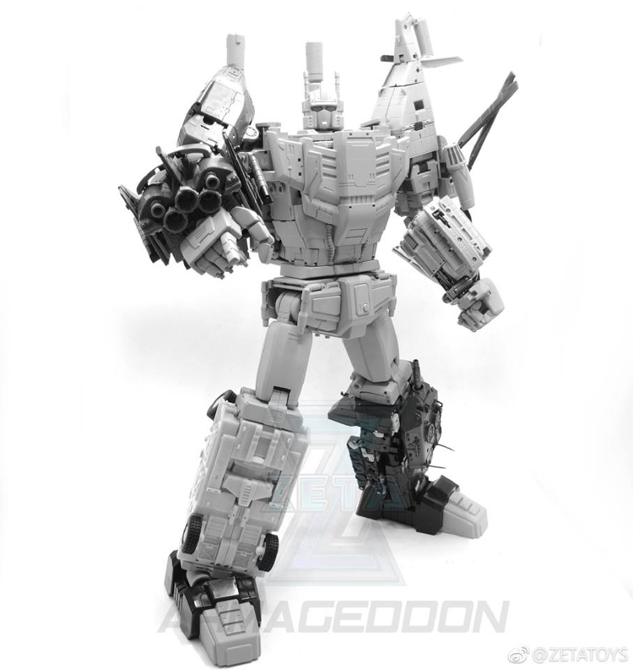 [Zeta Toys] Produit Tiers - Armageddon (ZA-01 à ZA-05) - ZA-06 Bruticon - ZA-07 Bruticon ― aka Bruticus (Studio OX, couleurs G1, métallique) - Page 2 MwW8eSFm