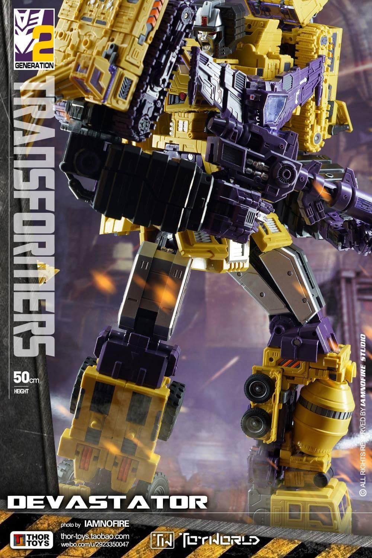 [Toyworld] Produit Tiers - Jouet TW-C Constructor aka Devastator/Dévastateur (Version vert G1 et jaune G2) - Page 8 FSyz6KST