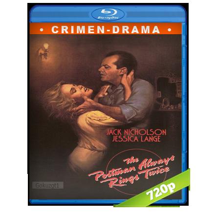 descargar El Cartero Siempre Llama Dos Veces 720p Lat-Cast-Ing 2.0 (1981) gratis