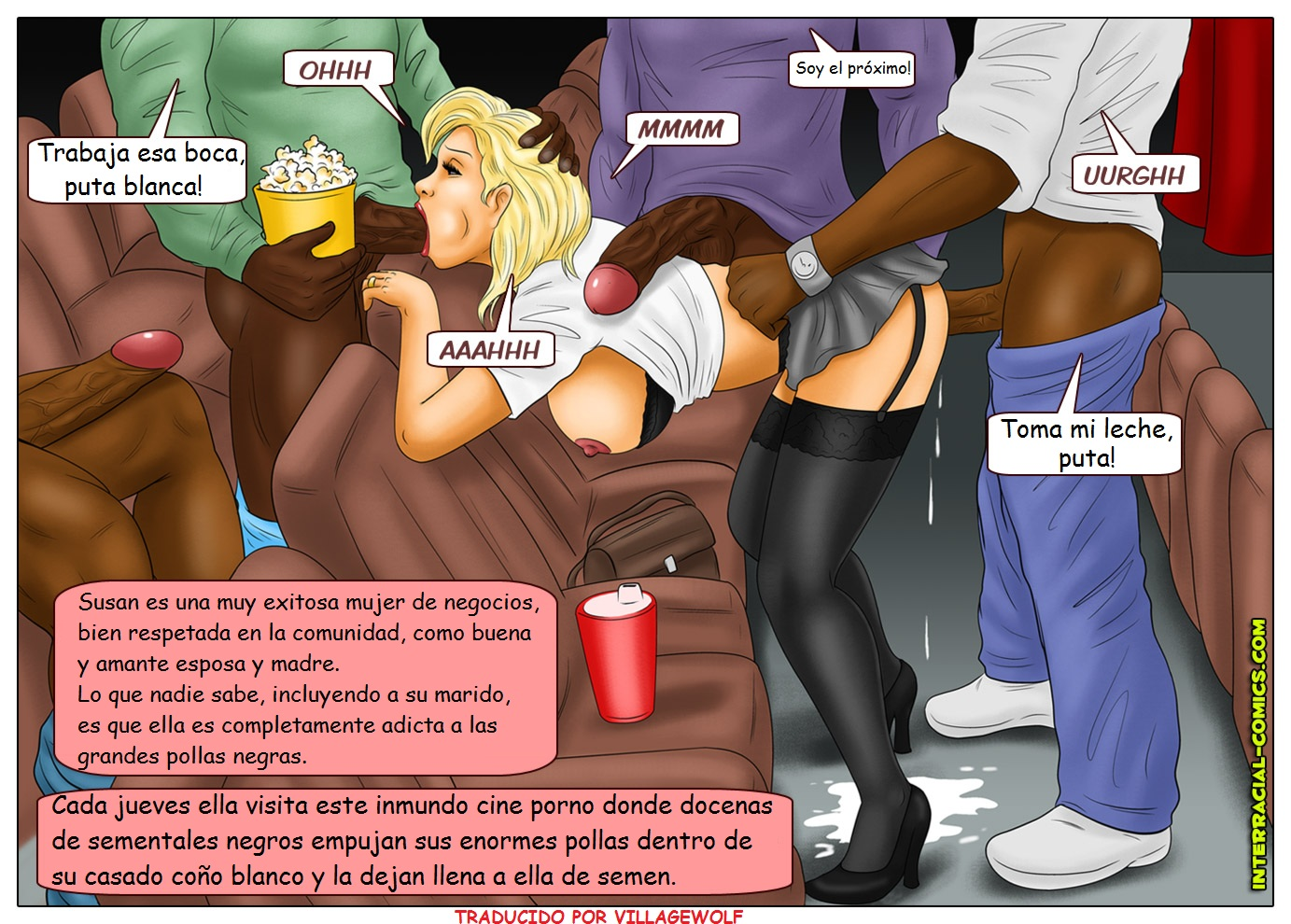 Negros Viejas Porno esposas infieles con negros - comic porno - ver comic porno