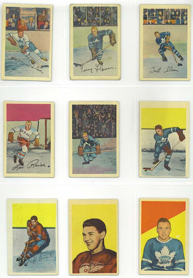 cards 46-54 - 1952-53 Parkhurst
