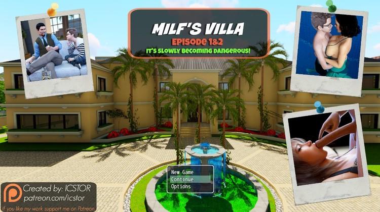Milfs Villa Episode 2 from Icstor