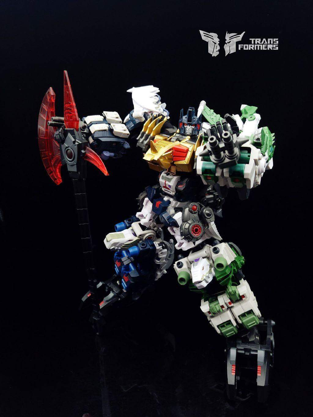[FansProject] Produit Tiers - Jouet Saurus Ryu-oh aka Dinoking (Victory) | Monstructor (USA) - Page 2 N4kZLlM2