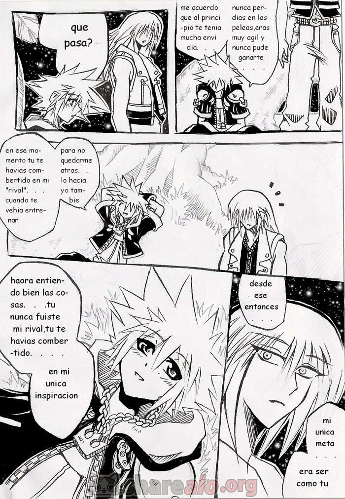 [ Unknown Kingdom Hearts Yaoi Doujin (Sora y Riku Sexo Caliente) ]: Comics Porno Manga Hentai [ NJGaItfh ]