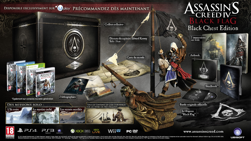 [PS3/PS4/Xbox 360/PC/Wii U] Assassin's Creed 4 Black Flag AbsGCNyl