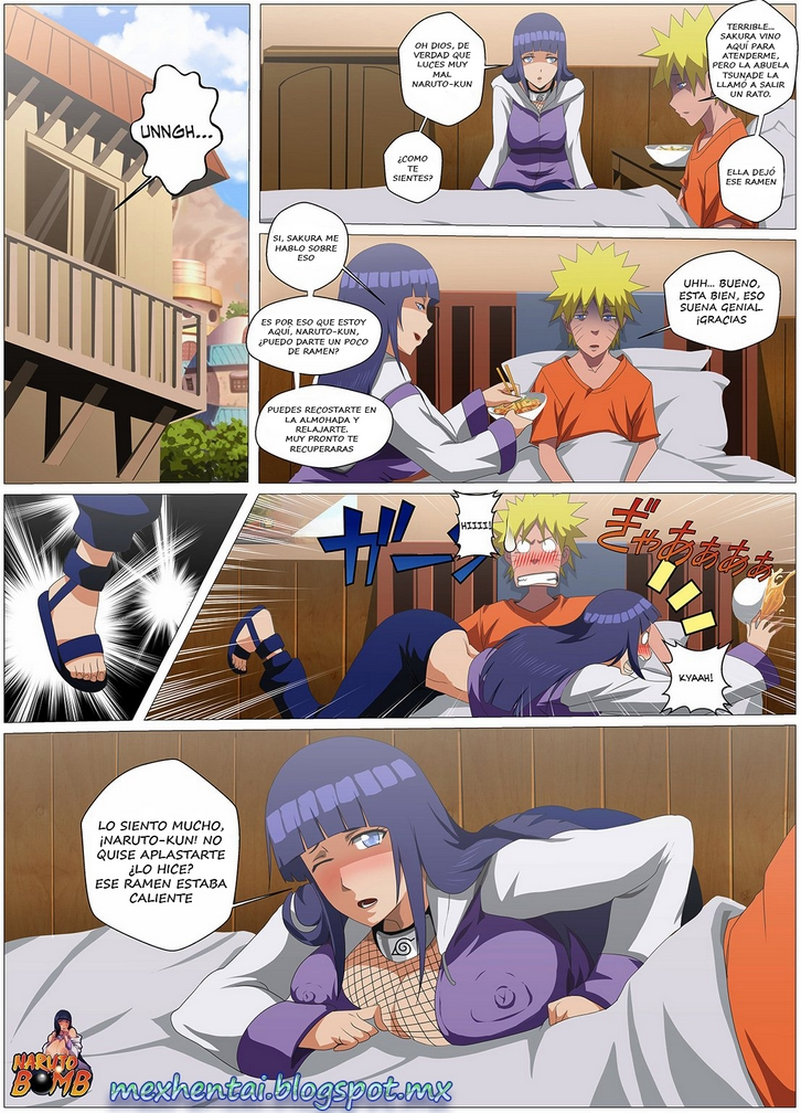 Cómic porno gratis de Hinata Hyuga y Naruto hentai