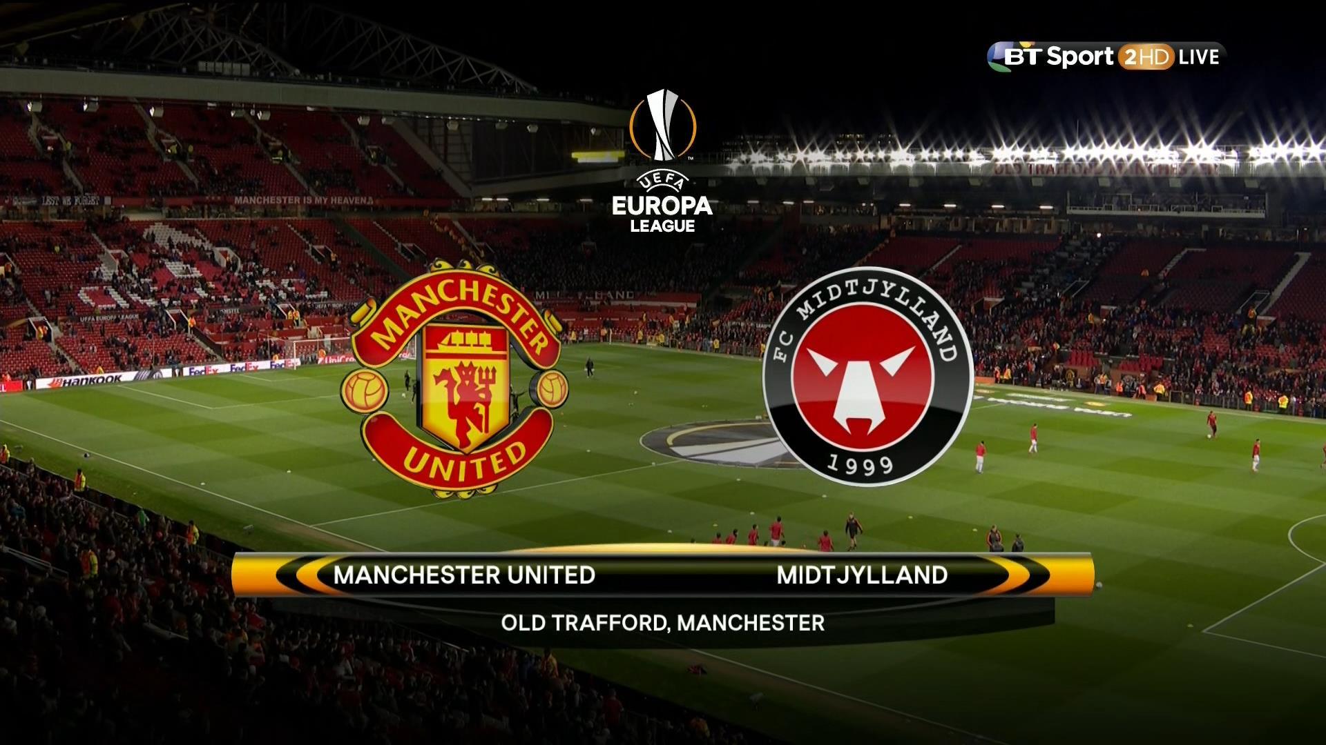 Xem lại: Manchester United vs Midtjylland
