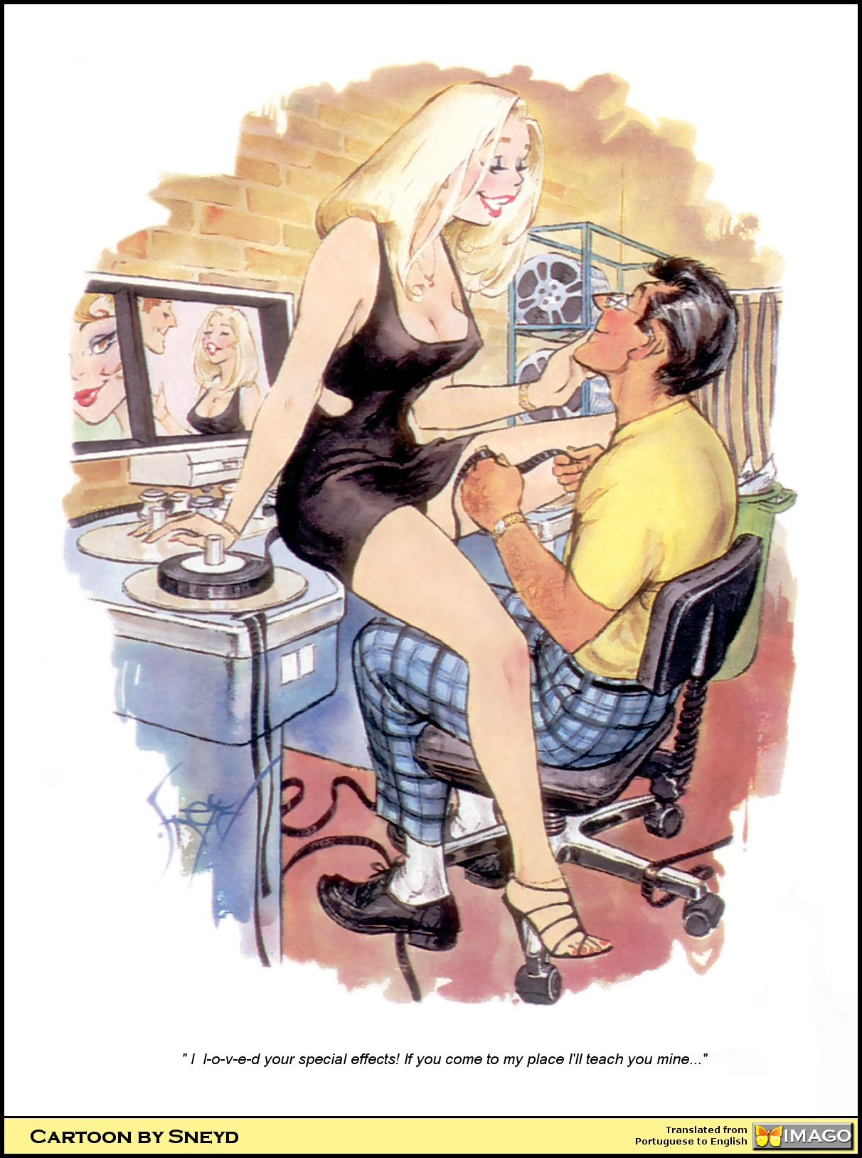 Эротические комиксы рисунки 16 фотография