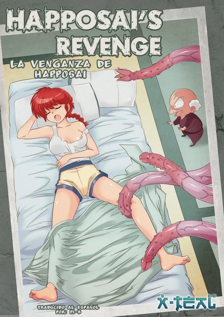 La venganza de Happosai Ranma XXX