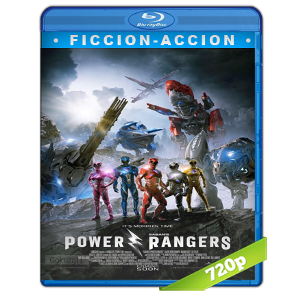 Power Rangers (2017) BRRip 720p Audio Trial Latino-Castellano-Ingles 5.1