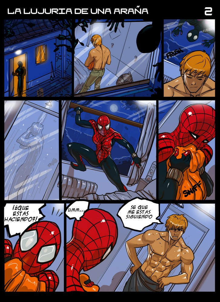 Think, spider girl nude