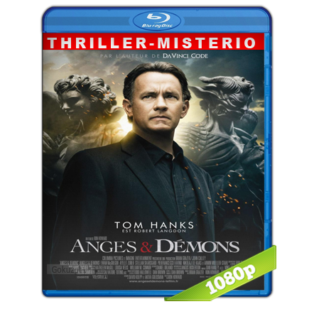 Angeles Y Demonios (2009) BRRip Full 1080p Audio Trial Latino-Castellano-Ingles 5.1
