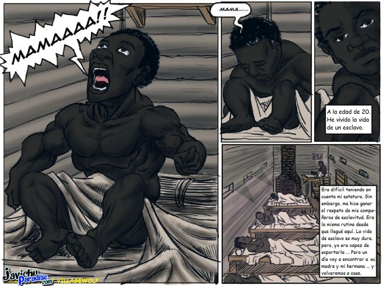Negros Con Pollas Jigantes Porno comics porno manza (colores) - poringa!