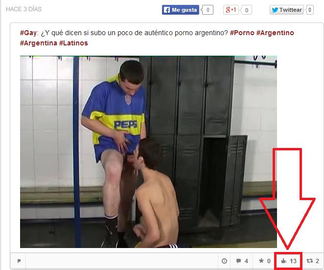 Porno Gay Argentino! #1: Los chicos del fútbol (Soccer Lads