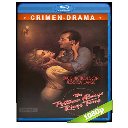 descargar El Cartero Siempre Llama Dos Veces 1080p Lat-Cast-Ing 2.0 (1981) gratis