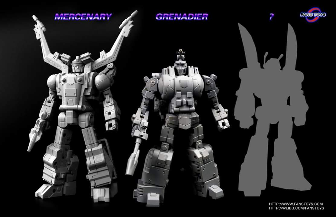 [Fanstoys] Produit Tiers - Jouet FT-12 Grenadier / FT-13 Mercenary / FT-14 Forager - aka Insecticons OphiOaij
