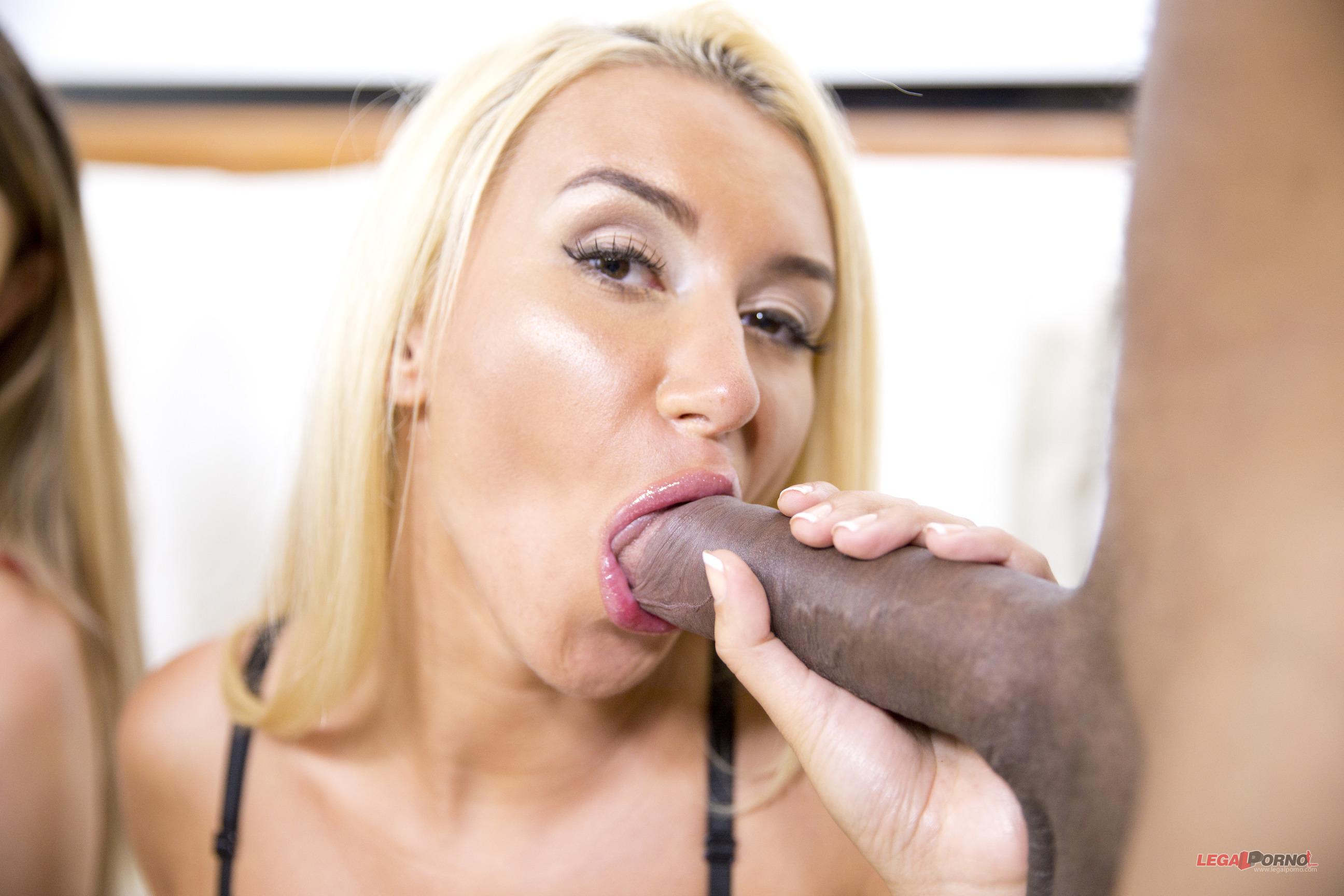 Katrin Tequila y Monica Paris- 100% sexo anal (interracial)