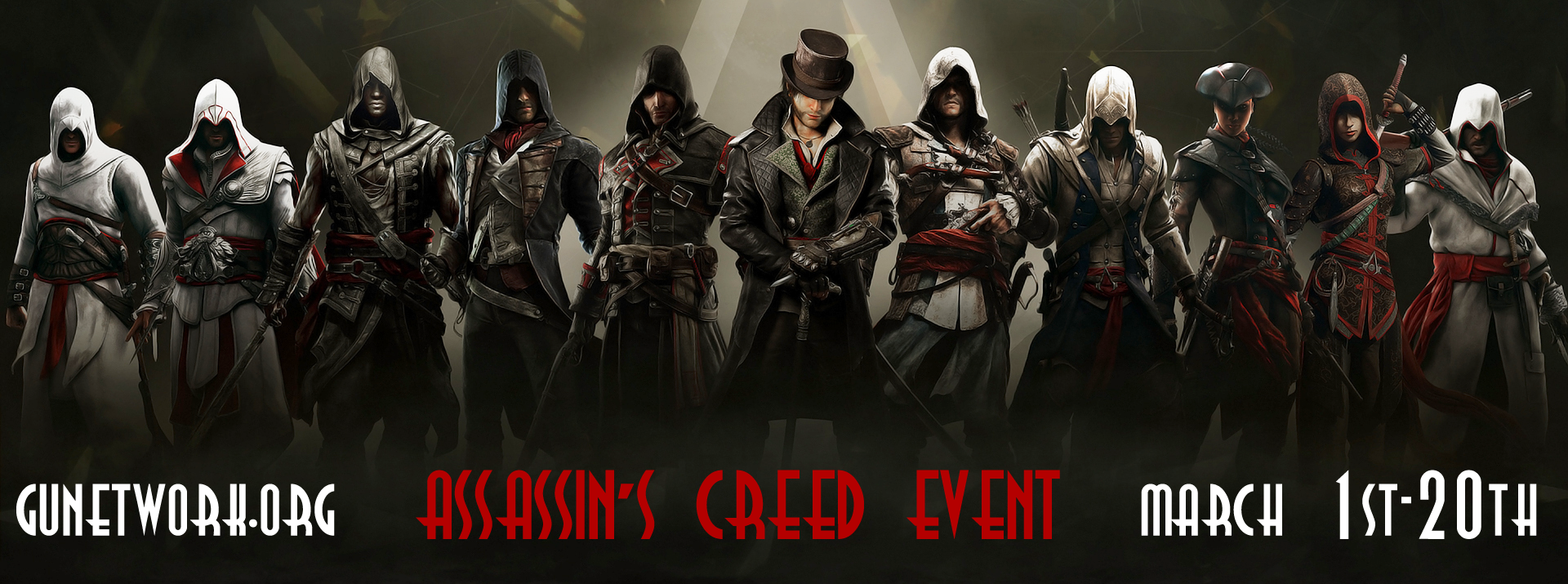 Assassin's Creed Event March 2017 + 50k members! FQGxb3wt