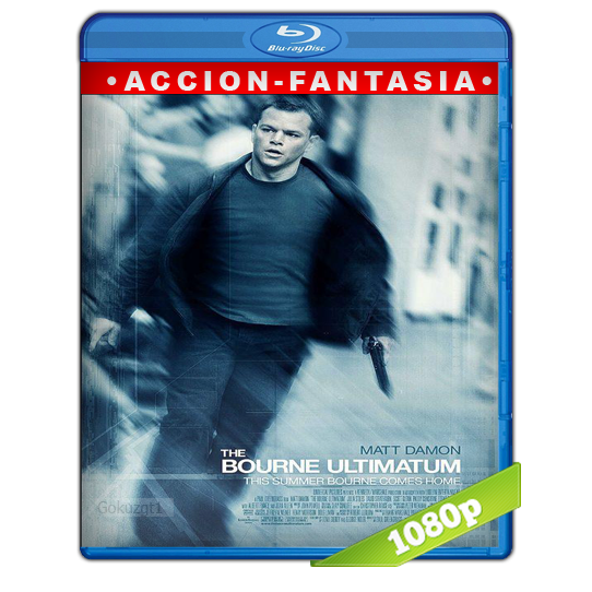 Bourne El Ultimatum [2007][BD-Rip][1080p][Lat-Cas][Accion]