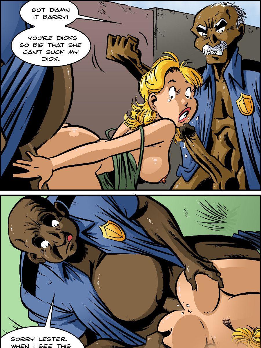 Cop uncle anal comix