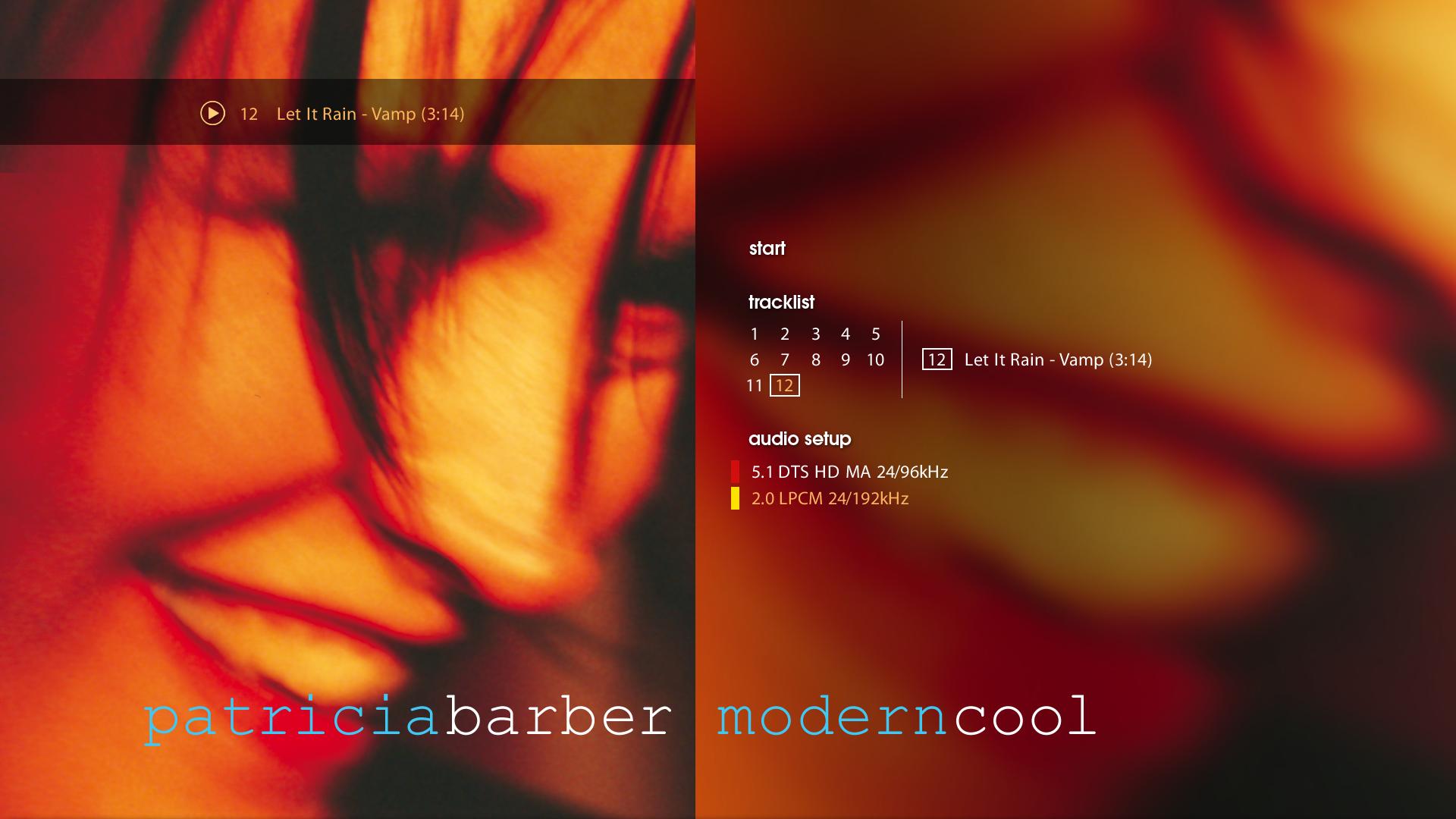 1998 Patricia Barber - Modern Cool (2012) {Premonition 90761-4} [Blu-ray Audio] 1