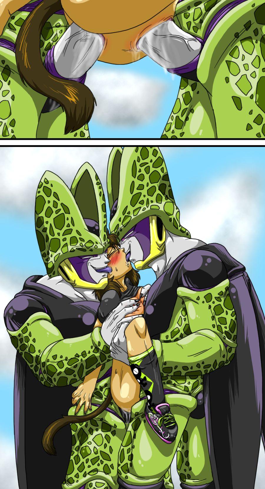 cell porno dragon ball