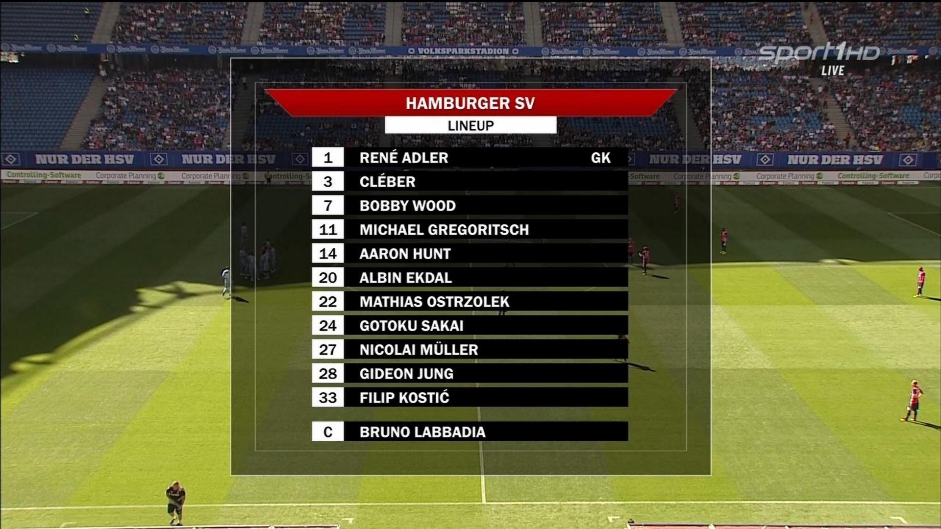 FUTBOL: Club Friendly - Hamburger SV vs Stoke City - 06/08/2016