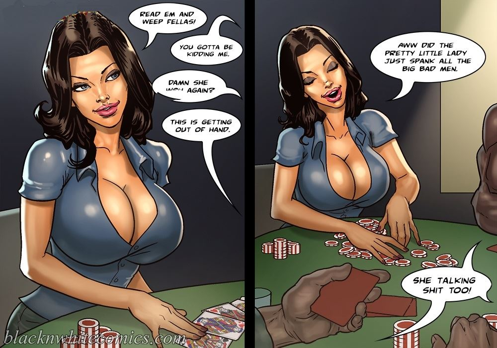 That's hot hot babe playing strip poker would love