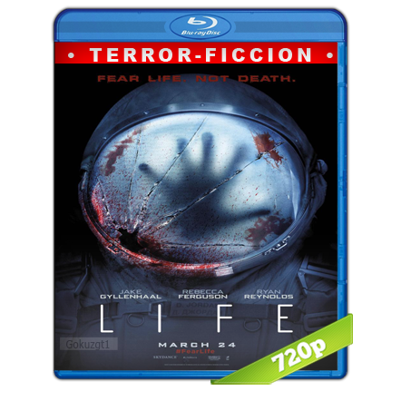 Life Vida Inteligente (2017) BRRip 720p Audio Trial Latino-Castellano-Ingles 5.1