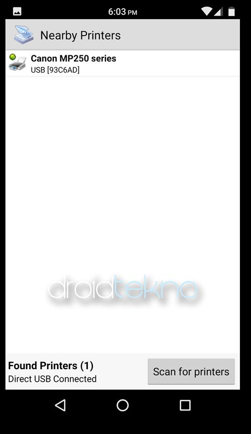 Cara Nge-Print Langsung dari Android tanpa Komputer_detect_printer