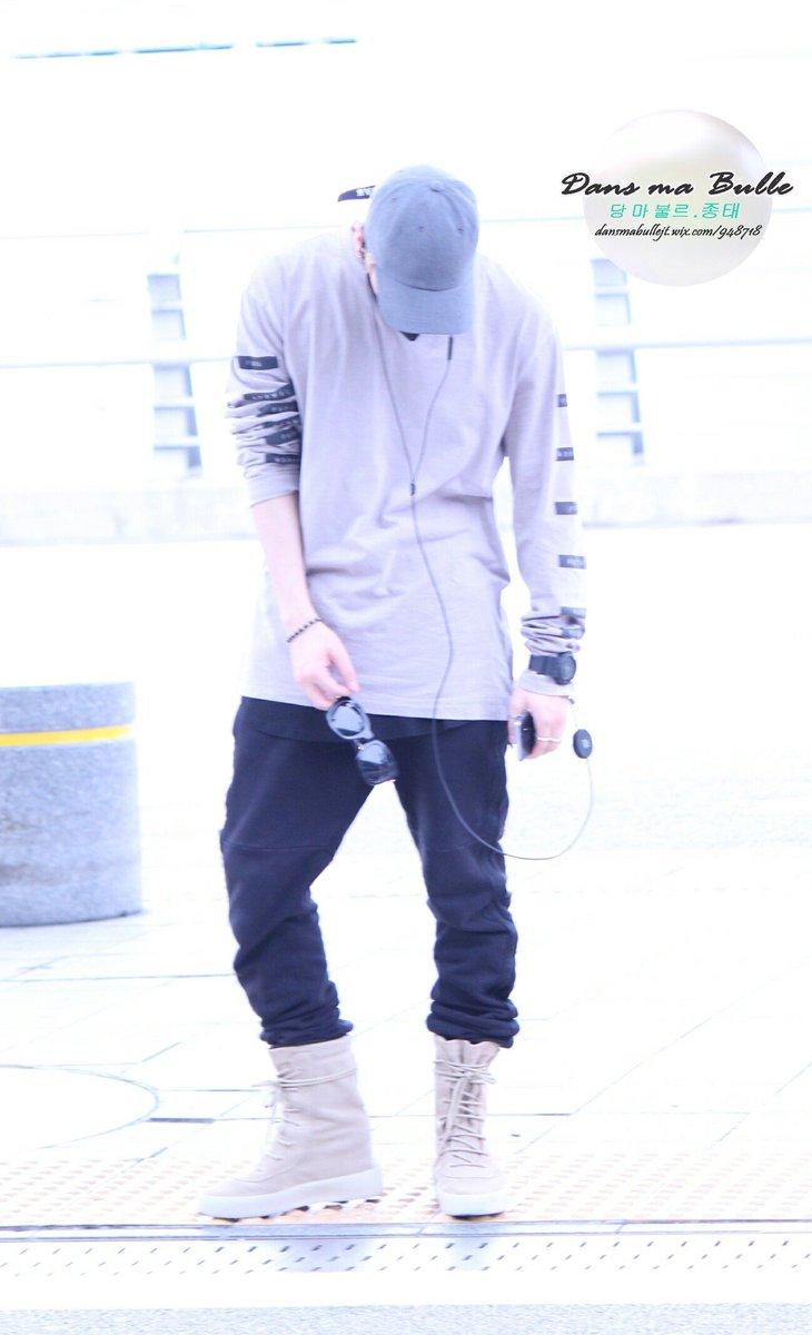 [IMG/160715] Jonghyun, Key @ Aeropuerto Incheon hacia Japón. NxH0DvNh