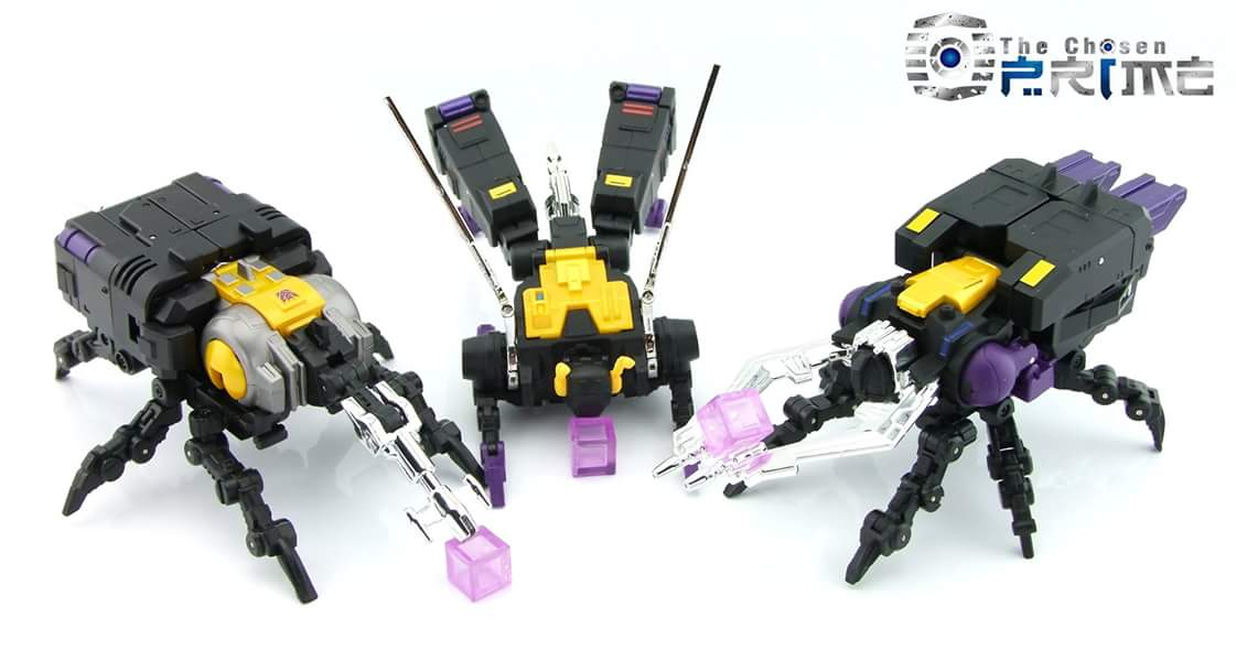 [Fanstoys] Produit Tiers - Jouet FT-12 Grenadier / FT-13 Mercenary / FT-14 Forager - aka Insecticons - Page 3 Ii9mKvTM