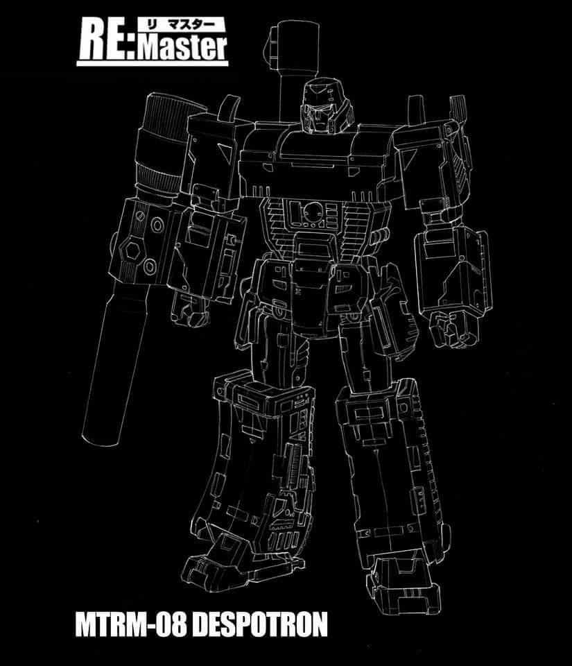 [Maketoys] Produit Tiers - Jouet MTRM-08 Despotron - aka Mégatron X0VHlL0k
