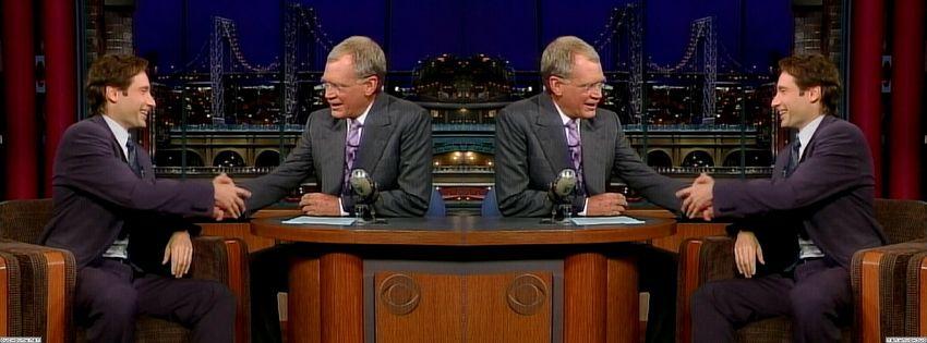 2003 David Letterman USXULJLt