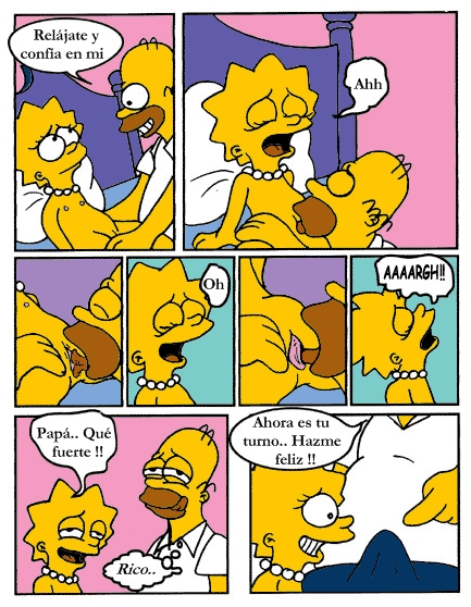 y homero xxx lisa los simpson