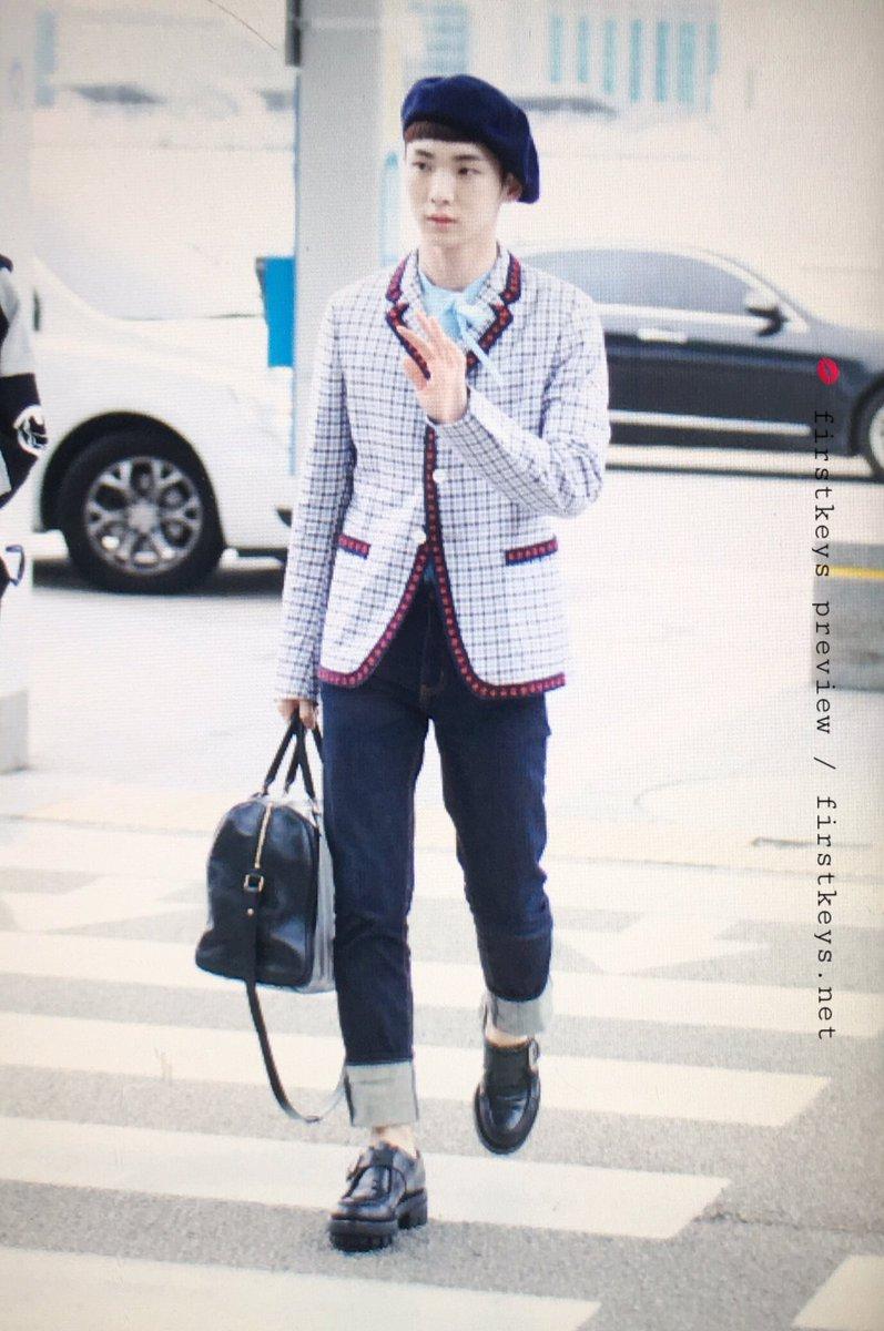 [IMG/160715] Jonghyun, Key @ Aeropuerto Incheon hacia Japón. WiGh9cCp