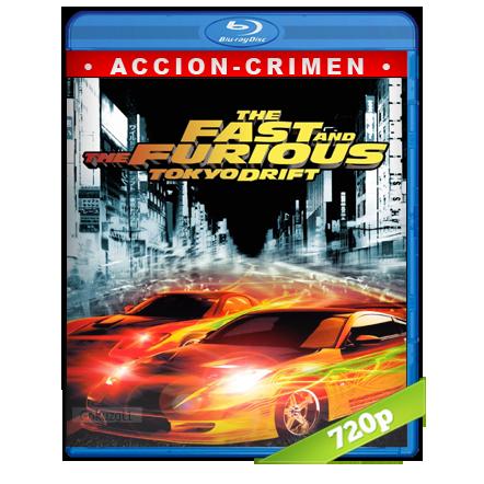 descargar Rapido Y Furioso 3 Reto Tokyo 720p Lat-Cast-Ing 5.1 (2006) gartis