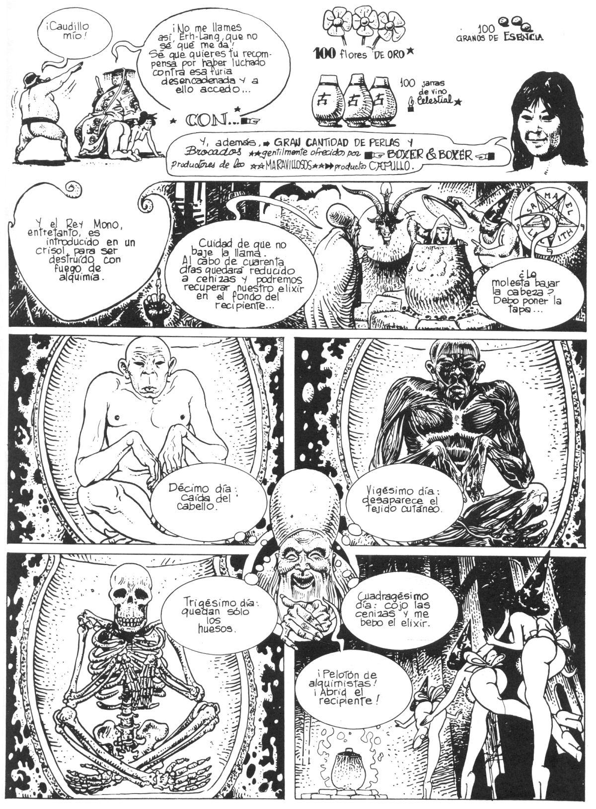 Milo Manara El rey mono