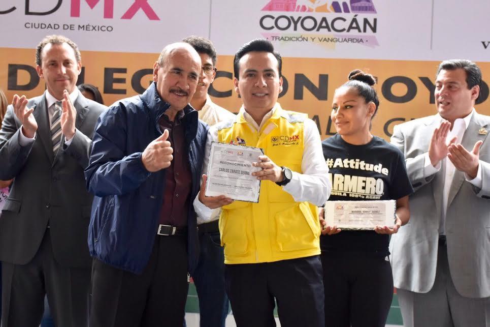 Rehabilitan el histórico Gimnasio Coyoacán
