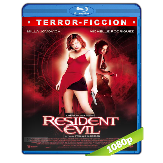 descargar Resident Evil 1 El Huesped Maldito HD1080p Lat-Cast-Ing 5.1 (2002) gratis