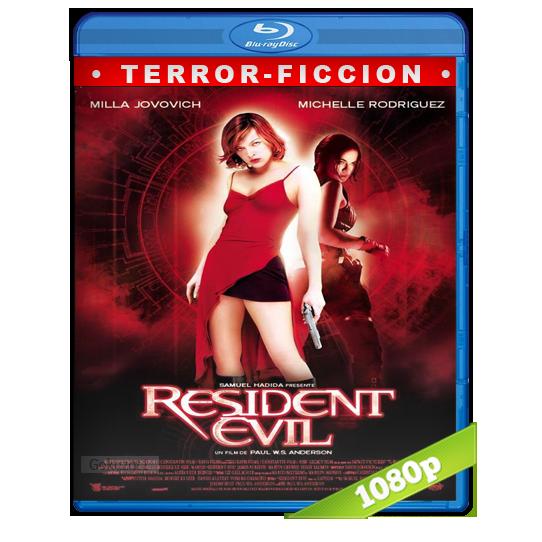 Resident Evil 1 El Huesped Maldito HD1080p Lat-Cast-Ing 5.1 (2002)